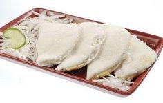 Tapioca com coco fresco e brigadeiro de leite condensado