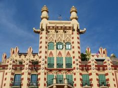 Casa Ferran Guardiola (ARQ. Joan Guardiola) 1929 Art Decó in Barcelona