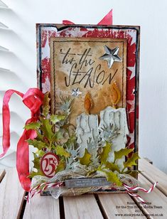 Emma WIlliams: 'Tis The Season Gift Card Holder Tutorial
