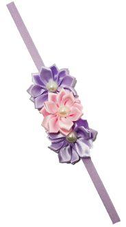 Satin Ribbon Flowers with Elastic Headband Skinny Headbands, Elastic Headbands, Satin Ribbon Flowers, Stylish Dresses, Hair Bows, Princess, Ribbon Hair Ties, Elegant Dresses, Hairbows