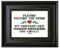 Check out this item in my Etsy shop https://www.etsy.com/listing/258947287/modern-embroidery-quote-making-memories