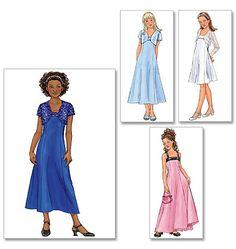 B4385 Girls's Jacket & Dress | Easy