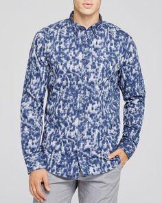 Boss Orange Edipoe New Leo Slim Fit Button Down Shirt