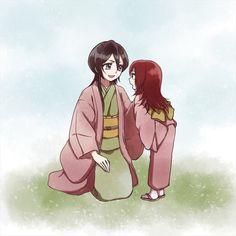 Mama Rukia and Ichika | Bleach