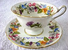 Antiques And Teacups//spring bouquet