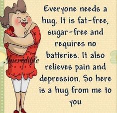 Have a hug! Cute Good Morning Quotes, Good Day Quotes, Morning Inspirational Quotes, Great Quotes, Motivational Quotes, Hug Quotes, Funny Quotes, Life Quotes, Special Friend Quotes