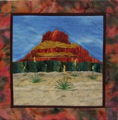Sedona's Bell Rock, design by Lynnae's Lines