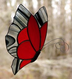 Monarch Butterfly by theglassmenagerie on Etsy
