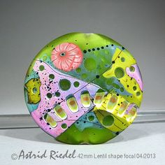 Astrid Riedel Glass Artist: Green Meadow!