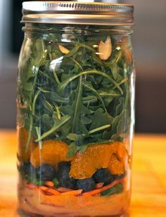 For The Most Instagramable Lunch Ever: 14 Healthy Mason Jar Salad Recipes   Be Well Philly