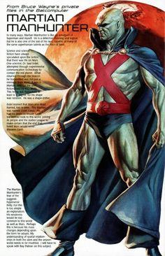 Batfiles: Martian Manhunter •Alex Ross
