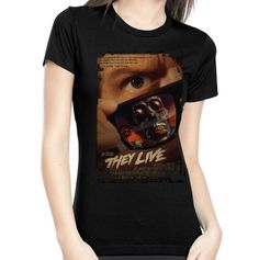 They Live Poster Women's Tee