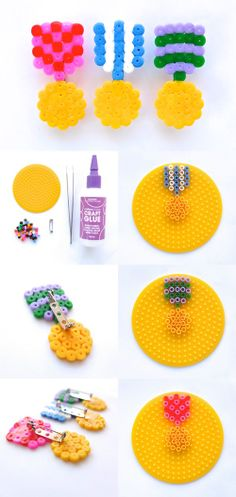 Studio ToutPetit: Tutorial Tuesdays * Hama Bead Medals [party favors for wreck it Ralph party?]