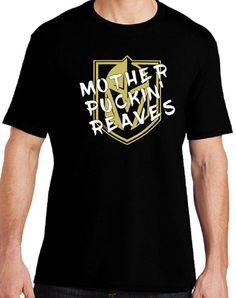 Vegas Golden Knights Hockey Mother Puckin  Reaves Mens Crew Neck Ladies  Shirt Crew Neck V-Neck Tank Top 899a1c24c