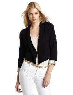aryn K Women's Cropped Blazer - Click picture for Description and other picture! $99.00