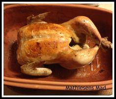 Kylling i Rømertopf   Mathiesens Mad