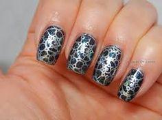 Znalezione obrazy dla zapytania gothic manicure