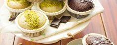 Muffins cioccolato e pistacchio