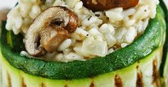 (truffel)risotto met courgette