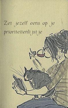 Zelf op je prioriteitenlijstje  www.info-zin.nl   www.facebook.com/info.zin