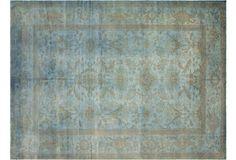"""Sultanabad Design Carpet, 10'1"""" x 13'7"""""""