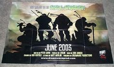 Teenage Mutant Ninja Turtles poster: Dreamwave comic book shop promo TMNT poster