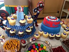 Captian America party