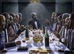 "PJ Crook; , ""THE DINNER PARTY"" #art"