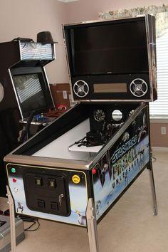 "STAR WARS: Pinball Unleashed - 46""/32""/DMD Widebody Virtual Pinball Build"