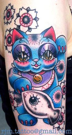 Lucky Cat by Rachel McCarthy.