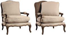 Designers Furniture Glendale Dominique Bergere Chair - Designers Furniture Glendale