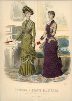 LA MODA ELEGANTE ... September 22, 1880