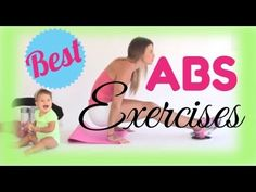 ABS/Core exercises with no equipment.  Great workout and its QUICK!