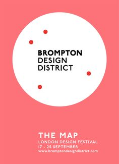 Brompton Design District | Irving & Co | heeey, i still keep a copy of my london design fest map!
