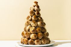 How to Make a Croquembouche, the Totally Over-the-Top Tower of Cream Puffs photo