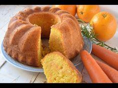Bundt o bizcocho de zanahoria y naranja - Cocinera y Madre Cornbread, Cupcake Cakes, Carrots, Deserts, Muffins, Gluten, Cooking Recipes, Yummy Food, Sweets