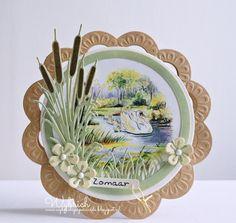 Cards made by Wybrich: Marianne Design challenge 156