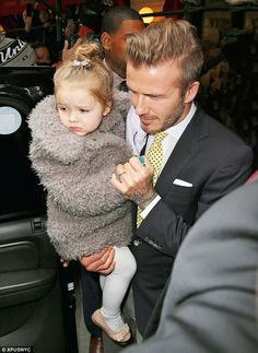 How Harper Beckham beat North West to become the trendiest tot #dailymail