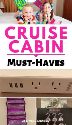 Cruise Cabin Hacks Every Cruiser Needs to Know - Life Well Cruised - caribbean cruise vacation travel tips - Cruise Packing Tips, Cruise Travel, Cruise Vacation, Vacation Trips, Shopping Travel, Beach Travel, Disney Cruise, Packing Lists, Vacation Travel