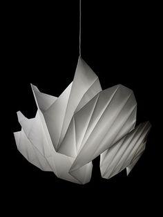 Issey Miyake Lamp.