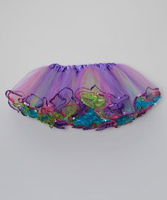 This Purple Sequin Tutu - Infant, Toddler & Girls by Inspiration Group is perfect! #zulilyfinds