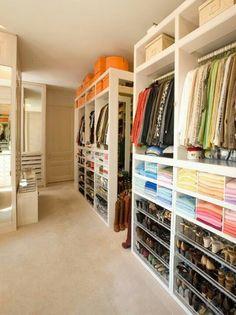 Organization. Closet.