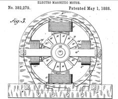 A portion of Nikola Tesla's revolutionary neon light