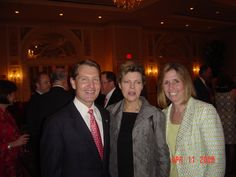 With Mary and Cokie Roberts at the Book and Author Dinner in Roanoke.