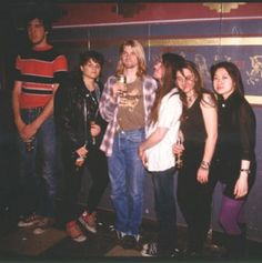 Krist, Kurt and Chad posing with some fans