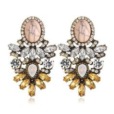 FREE! Crystal flower earrings!! You only have to pay for shipping. Get yours now-we sell out fast!! These lovely earrings are beautiful made of rhinestones and resin Material. https://goodfeelingstuff.com/collections/earrings/products/17km-vintage-new-hot-big-crystal-flower-drop-earring-for-women-2016-statement-fashion-rhinestones-earrings-best-friends-gift