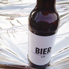 """Lets drink one together today is sunday again #bierbier #partytime #friends #nobranding #branding #bierberlin #berlin"""