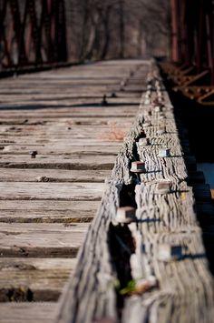 West Dundee, IL Old Train Bridge
