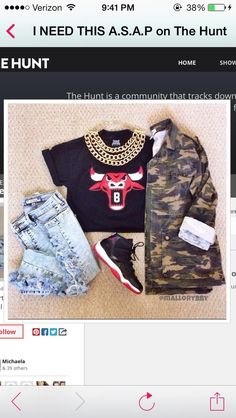 Jacket: camo destroyed jeans college chicago bulls shirt jeans shoes jewels pants jordans