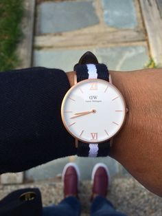 Loving my Grace Glasgow Daniel Wellington watch! -  Use SSHACOCHIS for 15% off all products at www.danielwellington.com  until May 31, 2015!